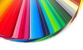 Färg guide närbild — Stockfoto