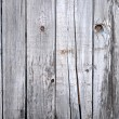 Close up of gray wooden fence panels  — Stock fotografie