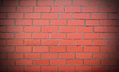 Brick wall red — Stock Photo
