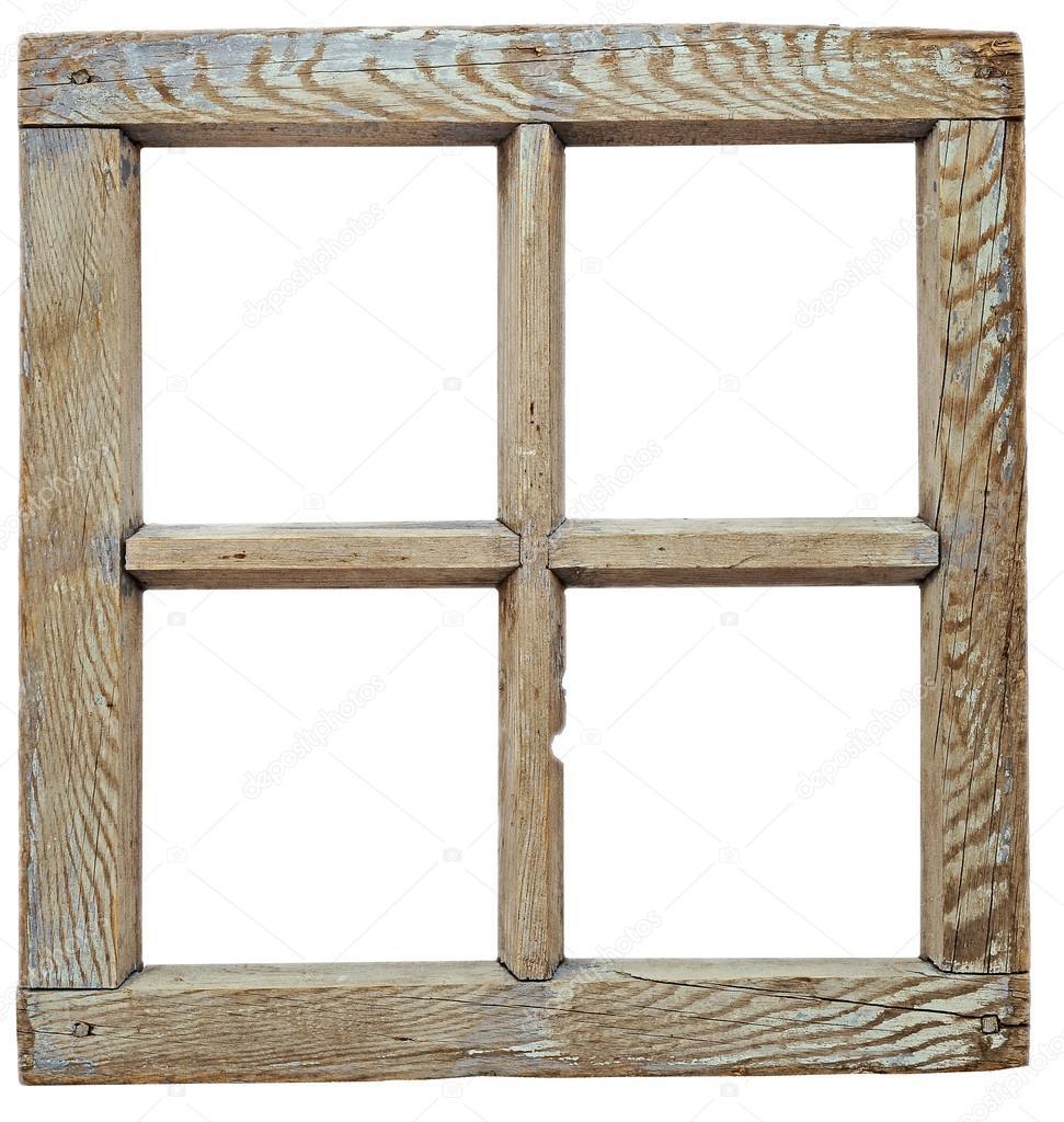 Wooden Window Frames for Pinterest