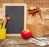戻って学校へ。教育の概念. — ストック写真