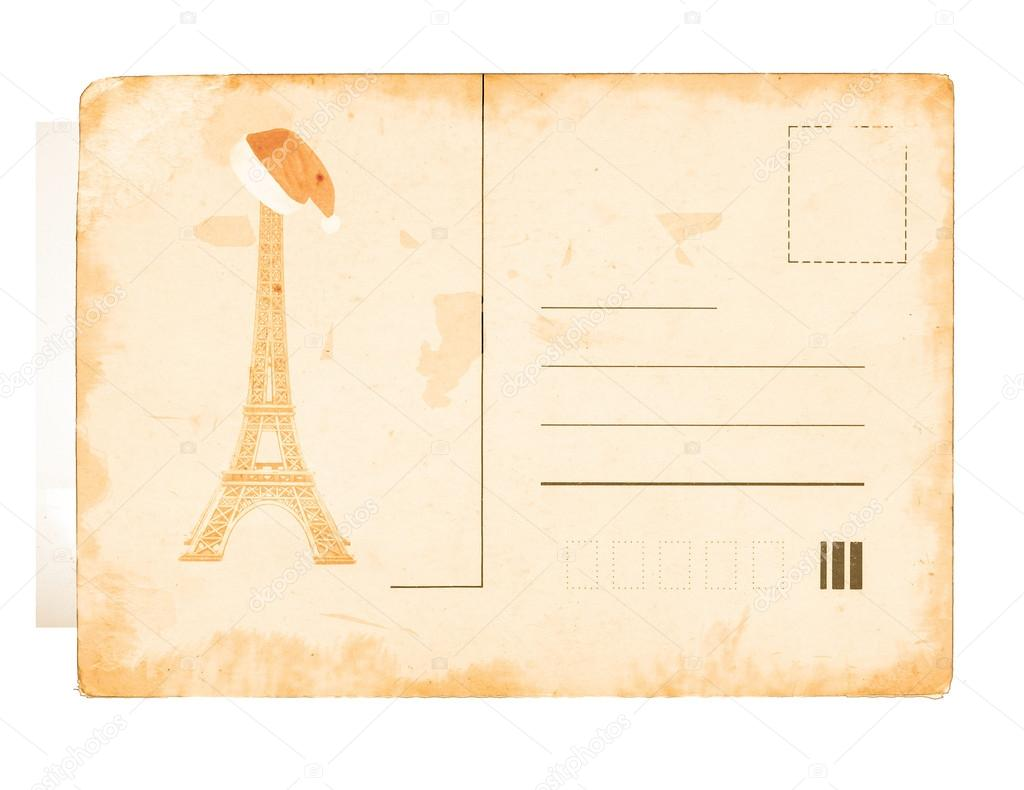 Vintage post card background with place for your text  — Stock Photo #15040455