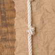Old paper with rope border — Stock Photo #16260995