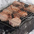 BBQ during winter time — Stock Photo #20320891