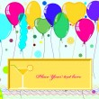 Card for congratulations — Stock Vector #22117601