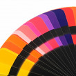 Color spectrum palette background - Stock Photo