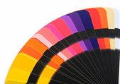 Color spectrum palette background — Stock Photo