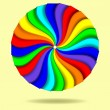 Abstract circle background. Colorful illustration — Imagen vectorial