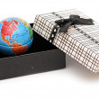 Stock Photo: World in the box