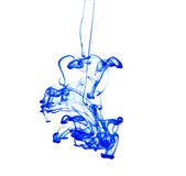 Abstract ink squirted into water — Stock Photo
