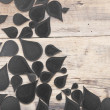 Abstract background with old wooden background — Foto Stock