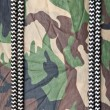 Stock Photo: Marine ropes on background of green camo