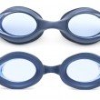 Swimming goggles isolated against a white background — Stock Photo #35497039