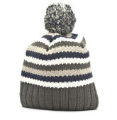 Wool hat on white background — Stock Photo