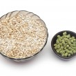 Barley with pellets of hops — Stock Photo #42962439