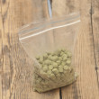 Pellets of hops — Stock Photo #42975119