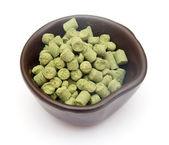 Pellets of hops — Stock Photo