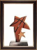 Star award isolated on the white background — Stock Photo