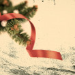 Christmas Grunge Frame — Stock Photo
