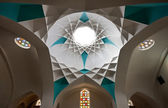 Iranian Architecture in Hammam Khan of Yazd — Stock Photo