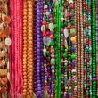 Strings of Colorful Beads and Gem Stones — Stock Photo #16621505