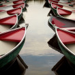 Boats on Canal — Stockfoto