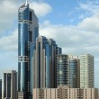 Royalty-Free Stock Photo: Vertical Dubai Skyline in Daylight