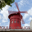 Moulin Rouge of Paris in daylight — Zdjęcie stockowe