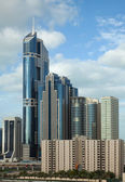 Vertical Dubai Skyline in Daylight — Stock Photo