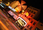 Moulin Rouge of Paris at night — Stock Photo
