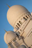Abu Dhabi Sheikh Zayed Mosque in United Arab Emirates — Stock Photo