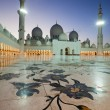 Abu Dhabi Sheikh Zayed Mosque — Stock Photo