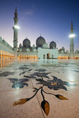 Abu Dhabi Sheikh Zayed Mosque — Stock Photo