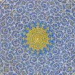 Islamic Motif Design On the Ceiling of a Mosque — Stock Photo
