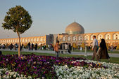 Naqsh-e Jahan Square in Isfahan City — Stock Photo