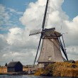 Kinderdijk Windmill in Autumn — Stock Photo