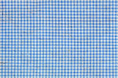 Blue Squared Pattern with Embedded Fibers in the Texture — Stock Photo