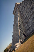 Crawling Snake in Spring Equinox at Chichen Itza Kukulcan Temple — Stock Photo