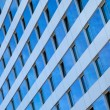 Stock Photo: Pattern of Rectangular Blue Windows
