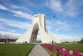 Spring in Azadi Square of Tehran — Stock Photo