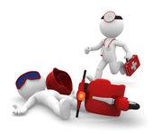 Services médicaux d'urgence. isolé — Photo