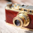 Vintage film camera - Stock Photo