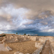 Panoramic view of ancient Kourion - Stock Photo