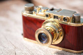 Vintage film camera — Stock Photo