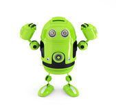Powerful Android Robot. Technology concept. — Stock Photo