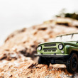 Stock Photo: 4x4 offroad car