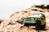 4x4 offroad car — Stock Photo
