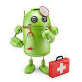 Medyk robota — Zdjęcie stockowe