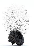 Shattered human brain — Stock Photo