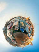 Kyrenia harbour. — Stock Photo